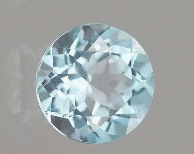 SKY BLUE TOPAS  -  ROUND FACET  -  7 mm  -  1,52 ct.