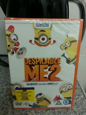 Despicable Me 2 Dvd New In Wrap