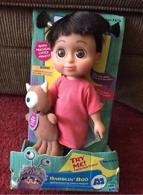New Disney Pixar Monsters, Inc. Babblin' Boo With Magical Little Mikey