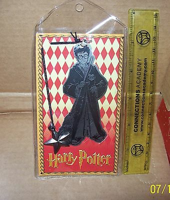 1 New Bookmark Harry Potter (with broom) Collectible Scholastic 2000 RARE