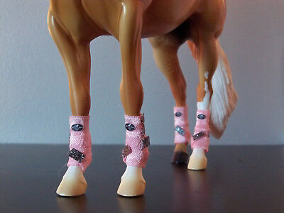 Custom Breyer Traditional SMB Boots Front and Back Set - You Choose Color!