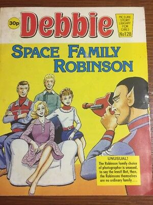 Debbie Picture Story Library For Girls #128 Space Family Robinson RARE HTF