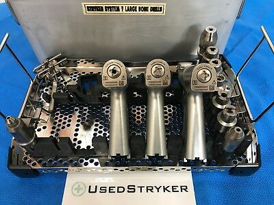 Stryker System 7 Set With 7203, 7206, 7208 Handpieces & attachements