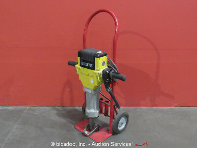"2012 Bosch BH2760 Brute Electric Jack Demo Hammer Breaker 1-1/8"" 120V w/ Dolly"