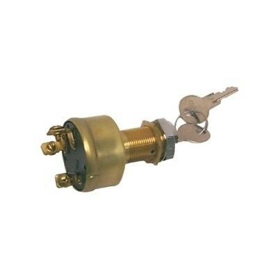 Boat Marine 3 Position Off On Start Ignition Switch 15 Amps 12 Volts DC