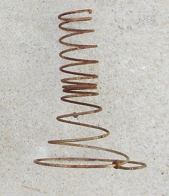 Lot of 26 ~ Vintage Primitive Rusty -Tornado Bed Springs Farm Arts Crafts Shabby