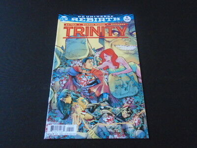 Trinity 5 (DC Comics) Mar 2017 BATMAN WONDER WOMAN SUPERMAN