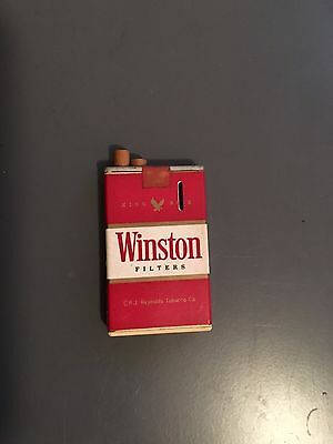 Collectible Vintage Winston Butane Lighter