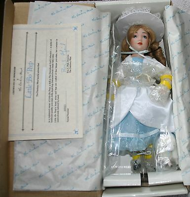 "Danbury Mint The Story Book Doll Collection ""Little Bo Peep"" 11"" Doll w/COA"