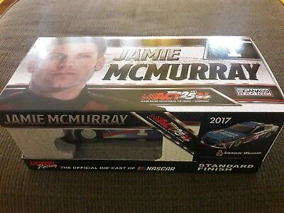 NASCAR 2017 Jamie McMurray #1 1/24 Scale Action Lionel Sherwin Williams Car