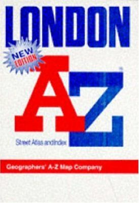 """A. to Z. Atlas of London: 1m-3"""" by Geographers' A-Z Map ... 