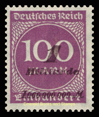 EBS Germany 1923 Inflation Number in Circle 2. OPD-Ausgabe Michel 331 MNH**