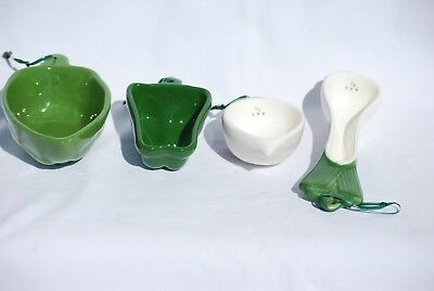 Vegetable Shaped Ceramic Measuring Cups