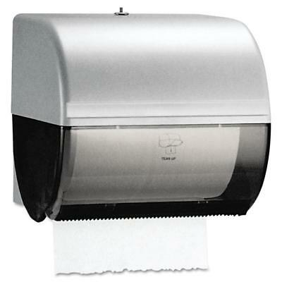 Kimberly-Clark Professional* Omni Roll Towel Dispenser, 10 1/2 x 10, Smoke/Gray