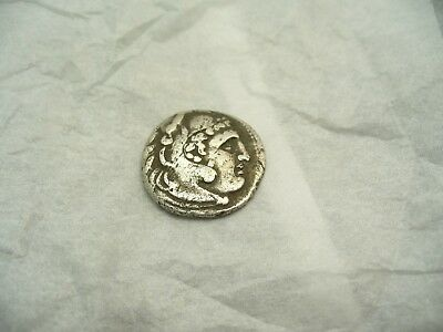 Ancient Greek Alexander the Great Silver Coin