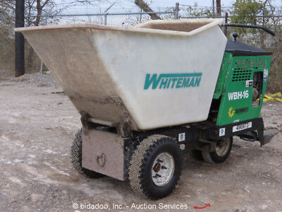 2010 Multiquip MQ WBH-16F Ride On Self Propelled Concrete Buggy Whiteman Honda