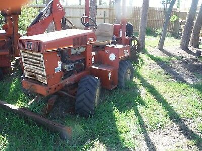 Ditch Witch 3700Dd Ride On Trencher Dozer Blade Plow Four Wheel Drive