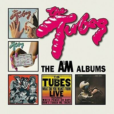 A&M Years - 5 DISC SET - Tubes (2017, CD NUOVO)
