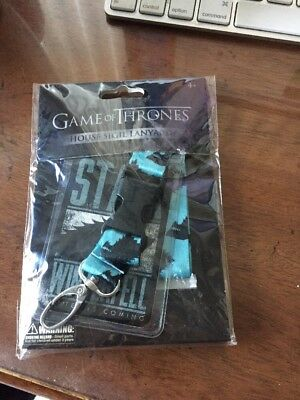 Game of Thrones HOUSE Sigil  LANYARD / Lannister HBO NEW