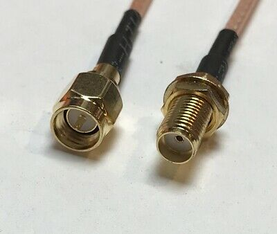 SMA MALE to SMA Female Coaxial Cable RG316 USA Pick Your Length