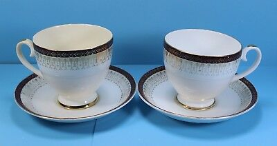 Royal Grafton Tea Cup & Saucer, Matching Pair, Majestic, Bone China, England