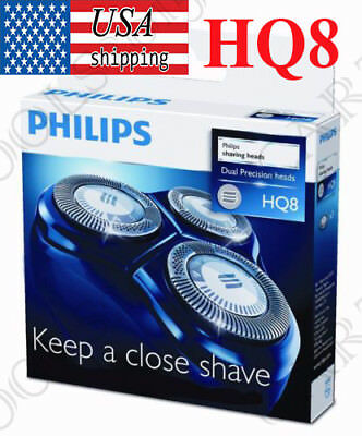 For Philips Norelco Shaving Replacement heads DualPrecision HQ8/52 Shaver Blade