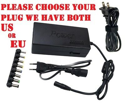 Universal AC Adapter 90W / Power Supply / Charger Cord for ALL Laptops
