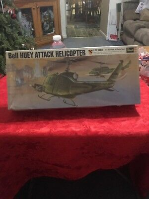 Bell Huey Attack Helicopter 1/32 Revell Model Kit Lot F