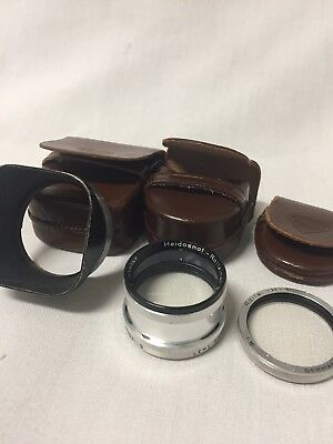 Heidosmat-Rolleinar 3 Lens with Leather case for TLR Rolleiflex