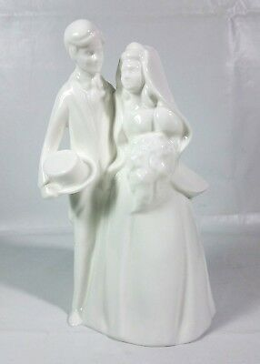 Vintage Royal Doulton Images Bride & Groom Hand Made & Decorated