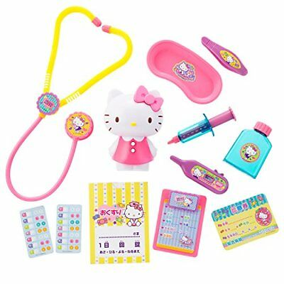 Hello Kitty Doctor Set with Everything from a Stethoscope to Medi... from Japan