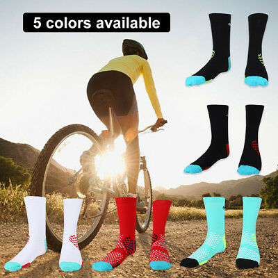 Unisex Breathable Anti-sweat Athletic Tube Sock For Soccer Basketball Cycling GL