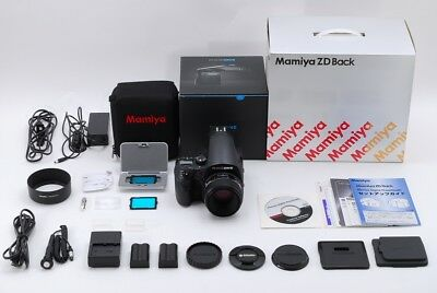 [MINT]Mamiya PHASE ONE 645 DF w/Schneider AF 80mm F2.8 LS,Mamiya ZD Back#273
