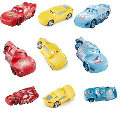 Disney Pixar Twisted Cars 3 Race Reck Lightning McQueen Cruz Ramirez 3+ Toy Car