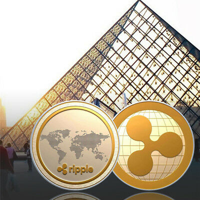Ripple Coin Collection Commemorative Coin Gold & Silver XRP Collection Physical