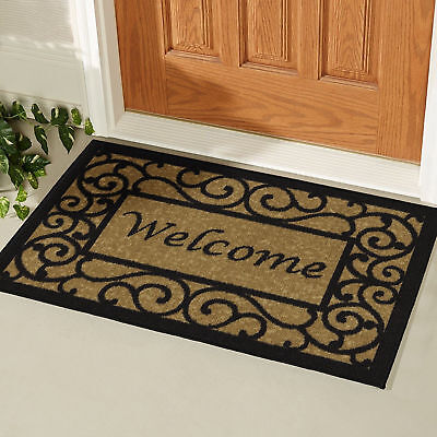 door mats floor mats rugs carpets home garden picclick. Black Bedroom Furniture Sets. Home Design Ideas