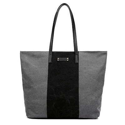 Patchwork Canvas Women Handbags Large Tote Shoulder Beach Bags 37x15x35 CM