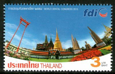 Thailand 2015 3Bt Dental Congress Mint Unhinged