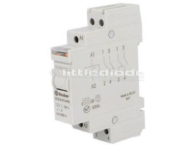 20.23.8.012.4000 Relay impulse SPST-NO + SPST-NC 12VAC Mounting DIN FINDER