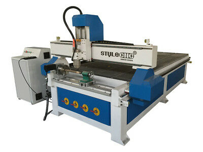 4*8ft CNC Router 1325 with 4 axis rotary