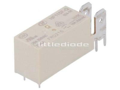 HF115F-Q//012-1H Relay electromagnetic SPST-NO Ucoil12VDC 20A//250VAC