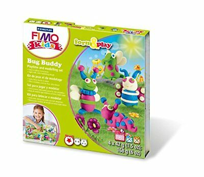 Fimo Kits For Kids Form & Play Polymer Modelling Oven Bake Clay - SET Bug Buddy