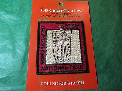 Canyonlands National Park The Great Gallery Embroidered Patch Utah Souvenir-P7