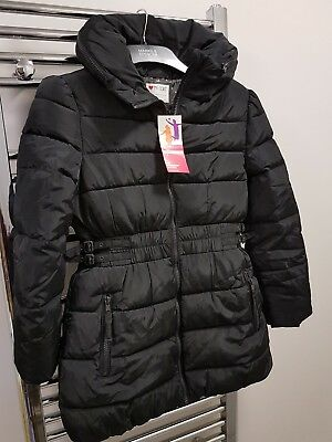 Marks And Spencer Girls 3 * Thermal Padded Coat.  Age 9-10. Nwt