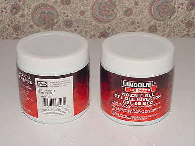 2 Lincoln Electric Welding Nozzle Gel KH507 Protection MIG-GUN Tip Position 16oz