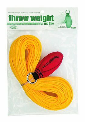 Weaver Leather Throw Weight and Line Kit, Red, 12 oz