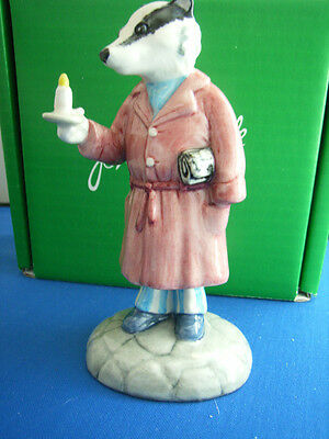 Beswick The Wind In The Willows Badger Wiw 3 Limited Edition Royal Doulton Mib