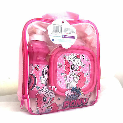 My Little Pony School Insulated Lunch Bag Child Kids Girls lunch bag Bottle Box
