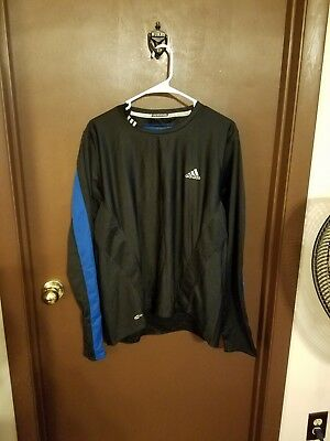 ADIDAS MEN VINTAGE look Long sleeve T Shirt Top Size Large