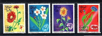 Somalia (1869) 1969 Flowers set Unmounted mint Sg498-501